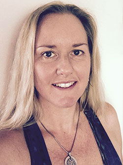 Dee from Deva Co. prenatal yoga, doula, massage, beauty treatments