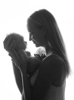 Bond with your baby during mums and bubs yoga at Deva Co....
